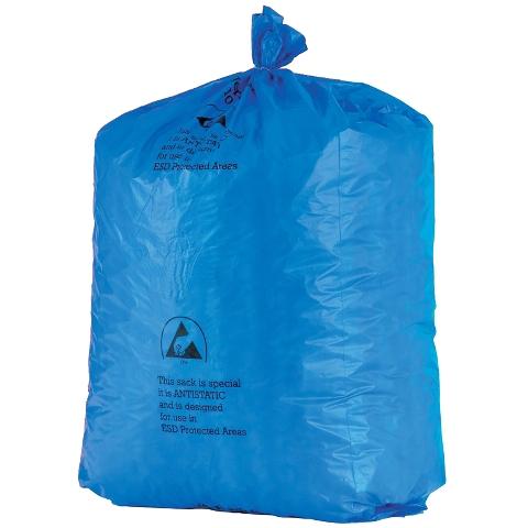 שקיות אשפה כחולות אנטי סטטיות - 900X735MM MULTICOMP