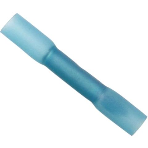 נעל כבל נקבה/נקבה עם בידוד מתכווץ - כחול - 100 יחידות MULTICOMP