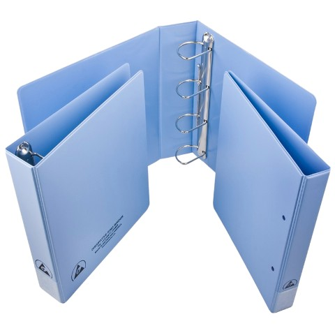 VERMASON ANTISTATIC RING BINDERS