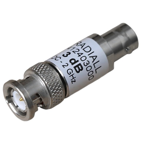 RADIAL RF ATTENUATORS - BNC
