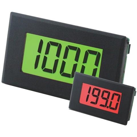 מד תצוגה (פנל מטר) דיגיטלי - 3.5 ספרות - 12.5MM - DC VOLTAGE LASCAR
