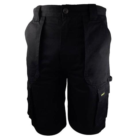 מכנסי עבודה - ברמודה - צבע שחור - מידה 38 STANLEY