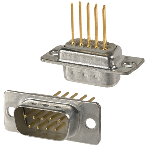 NORCOMP D-TYPE CONNECTORS - WIRE-WRAP
