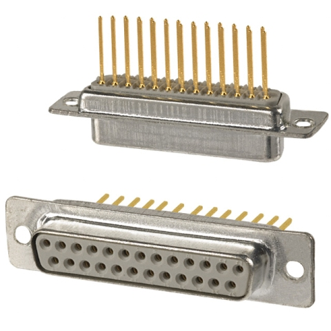 NORCOMP D-TYPE CONNECTORS - WIRE-WRAP