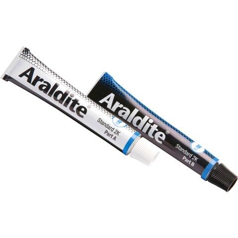 דבק אפוקסי - ULTRA STRONG - שתי שפופרות 15 מ