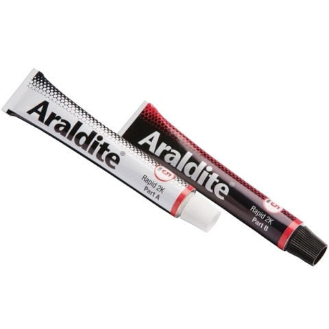 ARALDITE EPOXY ADHESIVE - RAPID 2X15ML TUBE - ARA400005