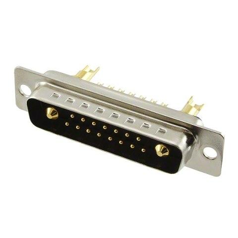 NORCOMP COMBINATION LAYOUT D-SUB CONNECTORS - 680M SERIES