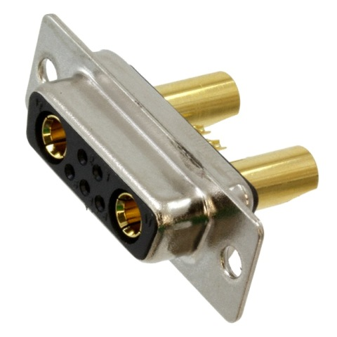 NORCOMP COMBINATION LAYOUT D-SUB CONNECTORS - 681S SERIES