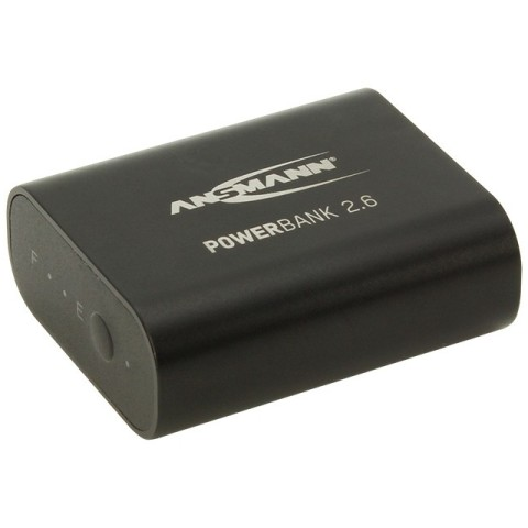 ANSMANN 5VDC 2.6AH POWER BANK - 1700-0026