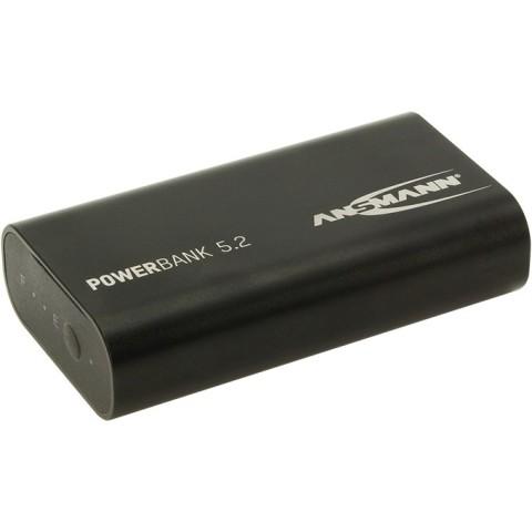 ANSMANN 5VDC 5.2AH POWER BANK - 1700-0027