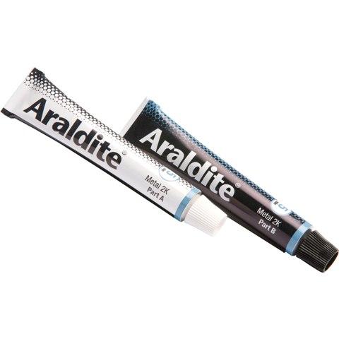 דבק אפוקסי - RAPID STEEL - שתי שפופרות 15 מ