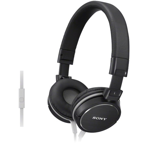 SONY STEREO HEADPHONES WITH INLINE MIC - MDR-ZX610AP