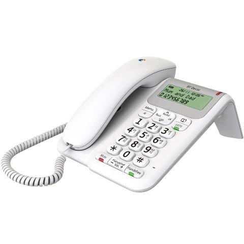BRITISH TELECOM CORDED PHONE - BT DECOR 2200