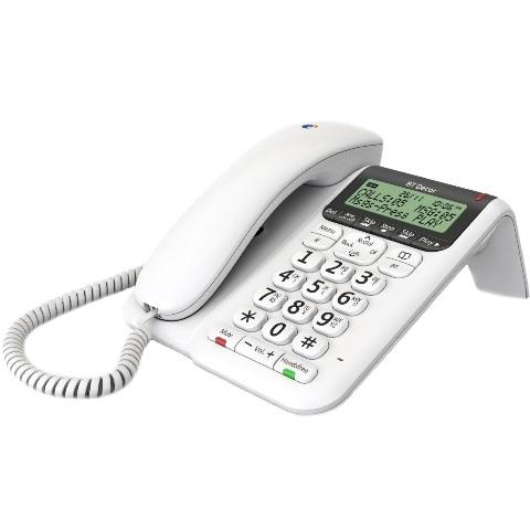 טלפון חוטי - BRITISH TELECOM - BT DECOR 2500 BRITISH TELECOM