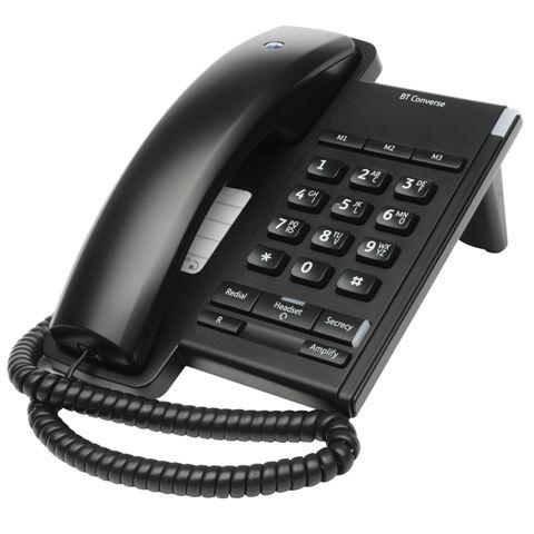 BRITISH TELECOM CORDED PHONE - BT CONVERSE 2100