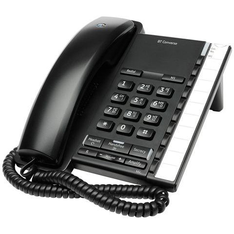 BRITISH TELECOM CORDED PHONE - BT CONVERSE 2200