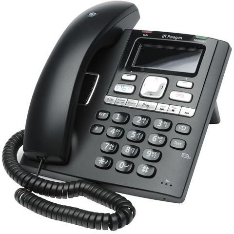 BRITISH TELECOM CORDED PHONE - BT PARAGON 650