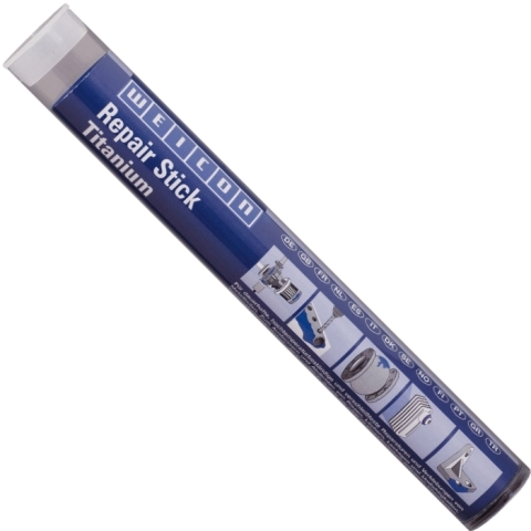 דבק אפוקסי פלסטלינה להדבקה ומילוי - REPAIR STICK TITANIUM WEICON