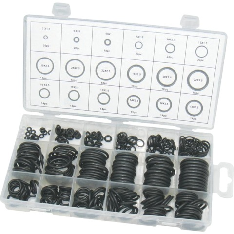 DURATOOL 279PCS O-RING ASSORTMENT