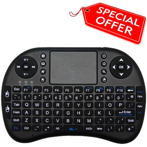 QWERTY ULTRA MINI KEYBOARD FOR THE RASPBERRY PI