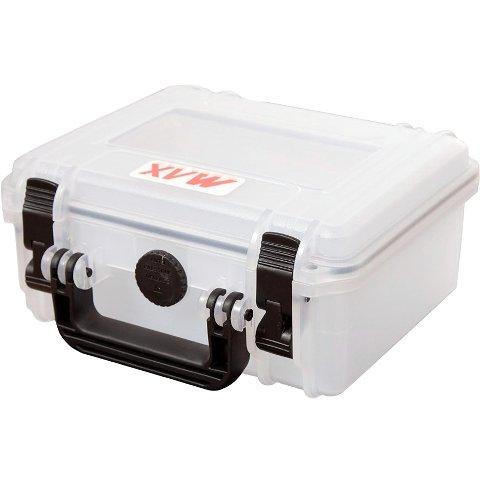 מזוודת אחסון שקופה מוגנת מים מפלסטיק קשיח - 258X243X118MM PLASTICA PANARO