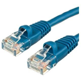 כבל רשת יצוק CAT5E 30M - בידוד כחול PRO-SIGNAL