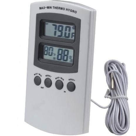 מד טמפרטורה דיגיטלי - פנים / חוץ PRO-SIGNAL
