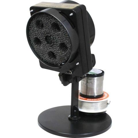 שואב עשן אנטי סטטי לעמדת הלחמה עם תאורת LED ומתקן לבדיל EDSYN