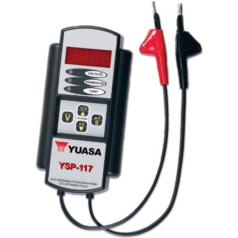 בודק מצברים LEAD ACID מקצועי - YUASA YSP-117 YUASA