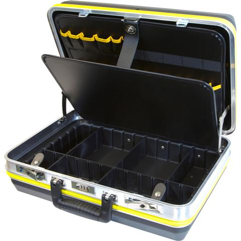CK TOOLS RIGID ABS TOOL CASE WITH ALUMINIUM FRAME - T1643