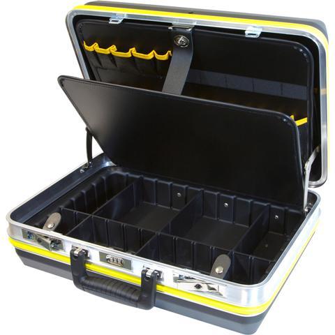 מזוודת אחסון מקצועית לכלי עבודה - 485X340X165MM CK TOOLS