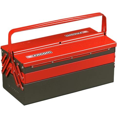ארגז כלים מקצועי מפלדה -  475X238X220MM FACOM