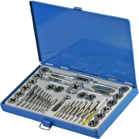 DURATOOL HIGH QUALITY TAP & DIE SET - D00194