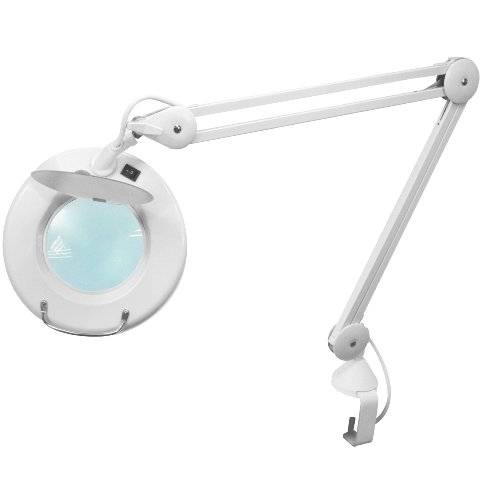 LIGHTCRAFT CLASSIC ROUND MAGNIFIER LAMP - LC8074