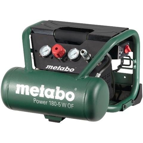 קומפרסור 5 ליטר ללא שמן - METABO POWER 180-5 W OF METABO