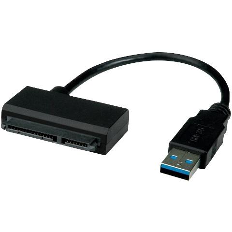 כבל למחשב - USB3.0 ~ SATA 6GB/S ROLINE