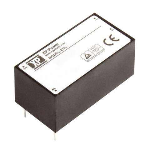 XP POWER PCB MOUNT ENCAPSULATED AC/DC POWER SUPPLIES - ECL SERIES