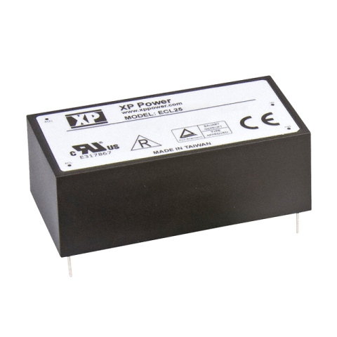 ספק כוח AC/DC למעגל מודפס - 25W - 85V~264V ⇒ 5V / 5A XP POWER