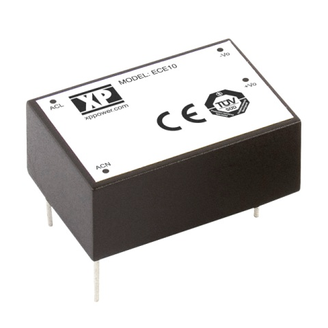 ספק כוח AC/DC למעגל מודפס - 10W - 85V~264V ⇒ 24V / 410MA XP POWER