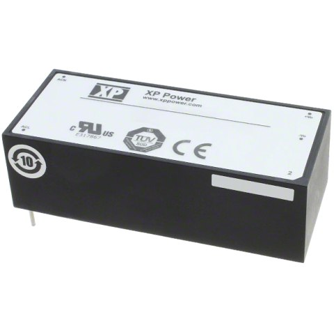 ספק כוח AC/DC למעגל מודפס - 20W - 85V~264V ⇒ 12V / 1.67A XP POWER