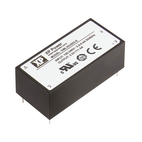 XP POWER PCB MOUNT ENCAPSULATED AC/DC POWER SUPPLIES - EML SERIES