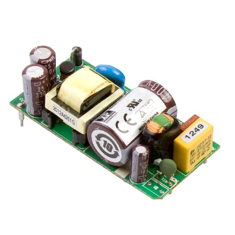 XP POWER PCB MOUNT OPEN FRAME AC/DC POWER SUPPLIES - ECL SERIES