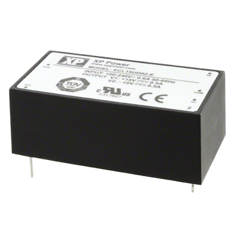 ספק כוח AC/DC למעגל מודפס - 30W - 85V~264V ⇒ +5V / +15V / -15V XP POWER