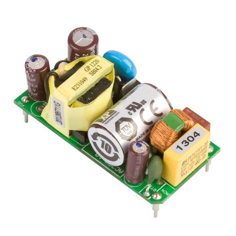 ספק כוח AC/DC למעגל מודפס - 15W - 85V~264V ⇒ +5V / +12V XP POWER