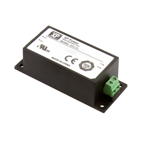 ספק כוח AC/DC לשאסי - 15W - 85V~264V ⇒ 15V / 1A XP POWER