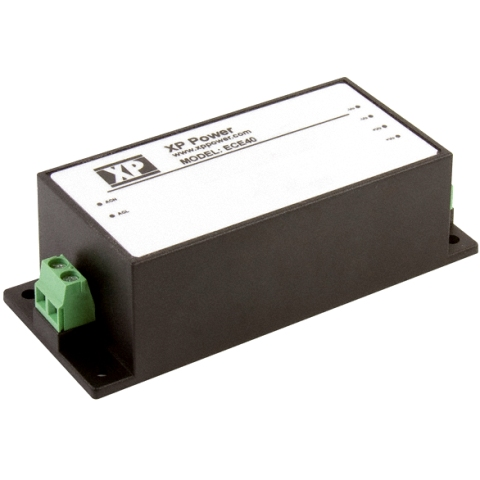 XP POWER DIN RAIL MOUNT ENCAPSULATED POWER SUPPLIES - ECE SERIES
