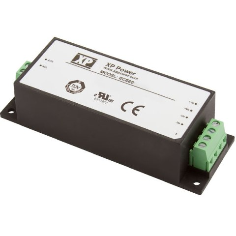 ספק כוח AC/DC לפס דין - 60W - 85V~264V ⇒ 12V / 5A XP POWER