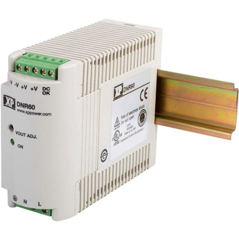 ספק כוח AC/DC לפס דין - 60W - 85V~264V ⇒ 48V / 1.25A XP POWER
