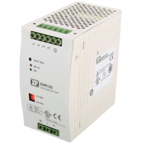ספק כוח AC/DC לפס דין - 120W - 90V~264V ⇒ 12V / 10A XP POWER