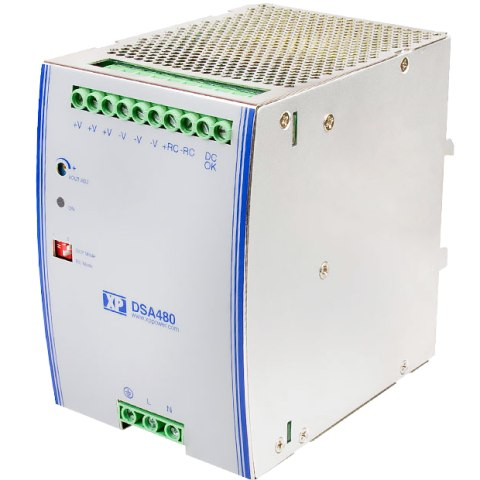 ספק כוח AC/DC לפס דין - 480W - 90V~264V ⇒ 48V / 10A XP POWER